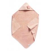 Osuška s kapucí Powder Pink