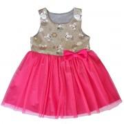 Dívčí šaty s tylovou sukní - Myšička