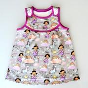 Dívčí šaty Princezna
