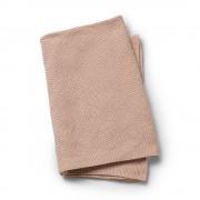 Pletená deka Powder Pink