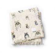 Bavlněná deka Forest Mouse