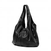 Přebalovací taška Draped tote black