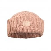 Vlněná čepice Blushing pink (0-6 měsíců)