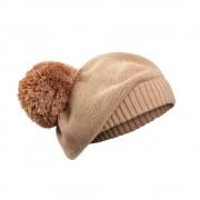 Pletený baret Blusing Pink (6-12 měsíců)