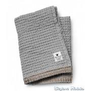 Bavlněná Wafl deka Gilded Grey
