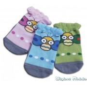 Bavlněné ponožky s včelkou