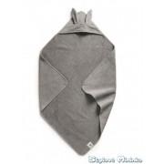 Osuška s kapucí Marble Grey