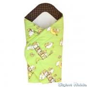 Zavinovačka pro miminko - Medvídci v zelené