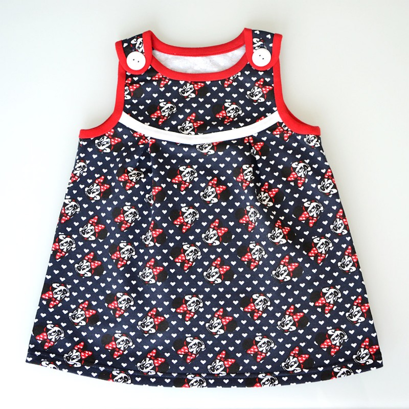 Tania dívčí šaty Minnie  31806d83ec
