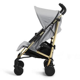 Golfový kočárek Stockholm Stroller Golden Grey