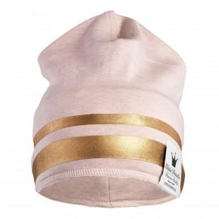 Čepice Beanie Gilded Pink