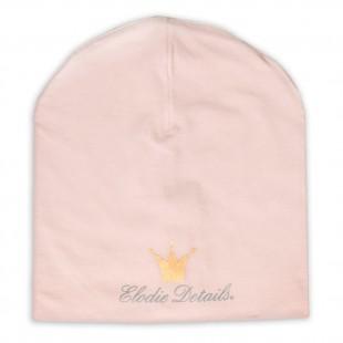 Čepice LOGO Beanie Powder Pink