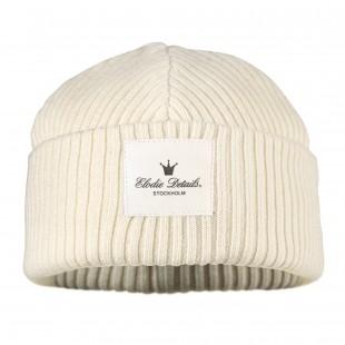 Vlněná čepice Vanilla White