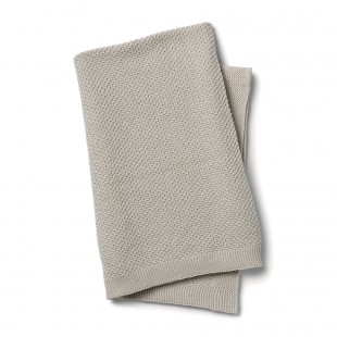 Pletená deka Greige