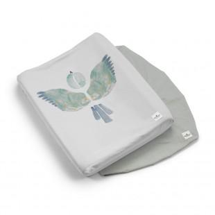 Povlak na přebalovací podložku Watercolor wings