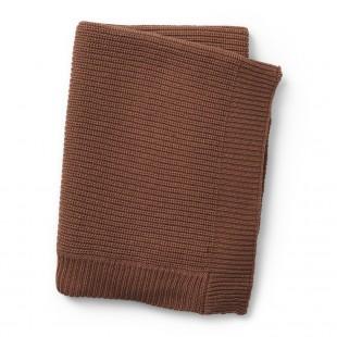 Vlněná deka Burned Clay
