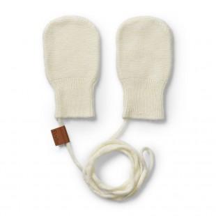 Kojenecké rukavičky Vanilla White (0-12 měsíců)