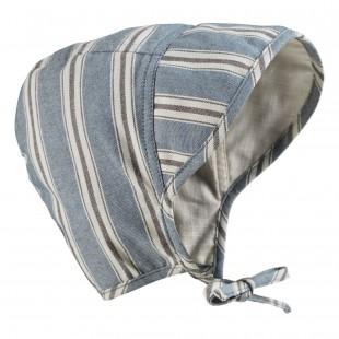 Čepeček pro miminka Sandy Stripe (0-3 měsíců)