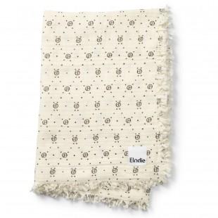 Bavlněná deka Monogram Print