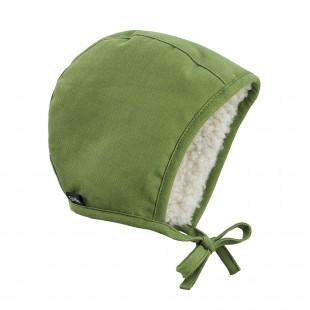 Zimní čepeček pro miminka Popping Green
