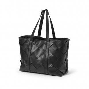Přebalovací taška Tote Braided Leather