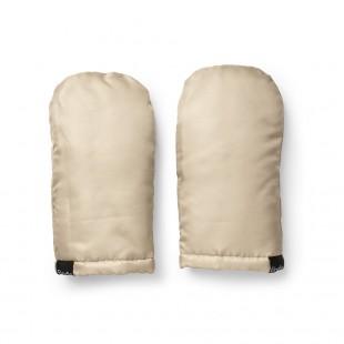 Rukavice na kočárek Pure Khaki