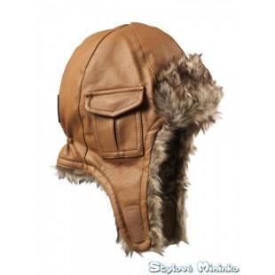 Čepice Chestnut Leather