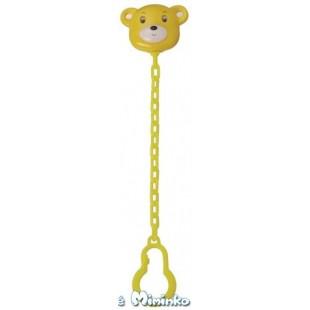 Držák na šidítka - medvídek