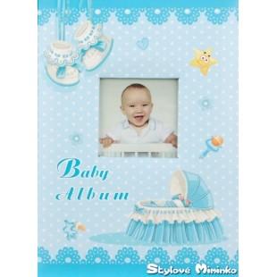 Fotoalbum Baby Cradle 1 - 9x13cm, 200foto