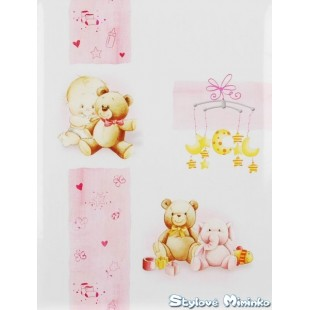 Fotoalbum Sweet Toy, 40stran - růžová