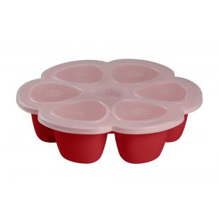Multi-dávkovač na jídlo 6x150ml červený