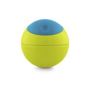 Boon - Kulatá svačinová nádobka modro-zelená