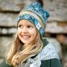 Čepice Beanie Gilded Everest Feathers