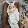 Osuška s kapucí Vanilla White Bunny
