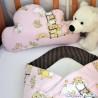 Polštářek Obláček - Medvídci v růžové